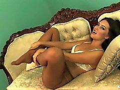 Deusa Selena meia-calça