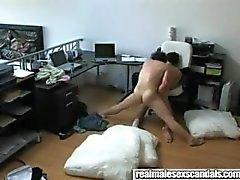 Verborgen camera vangsten Homos