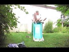 Sextoy 25 açık havada anal bahçeye fisting düz kız genç