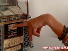 Euro Biondo Puma Swede voglia essere mangiato!