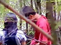 Neuken in het bos 1 door GotCuteAsian part2