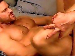 Masculino Masturbação Posições de primeira viagem cargas múltiplas esperma na flip