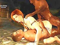 Sexy Skyrim - Nord Redhead 3 Diversão