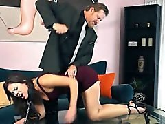 Blair Summers dominated and gets pounded by an older man