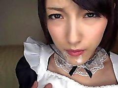 hizmetçi Cosplay sunumlarına ulaşmaktasınız Asya Kanako