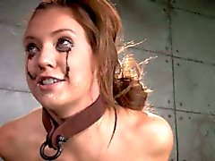BDSM bondage submissive sucks dick