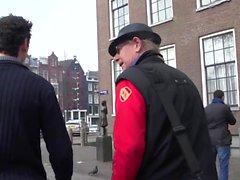 Голландская проститутка с опрыскиванием