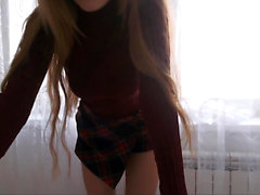 Striptease Webcam Teenager High School Fatto in casa 18anni