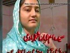 Pakistansk söta bachi Syeda Ammara Schah