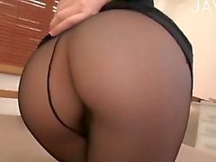 Pantyhose fetish actions