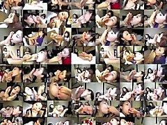 Поклонение ступням шестнадцать - Китайские стюардессы