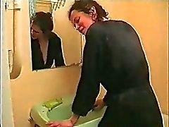 Bathroom Russian çift