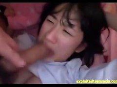 Nude asiático boquete pov