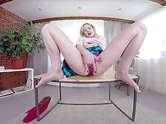 TmwVRnet - Effy doce - Sexy Blondie Jogos com Dildo