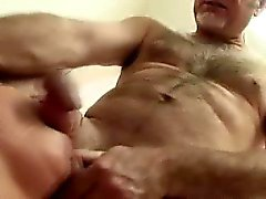 Dirty Old Men Pounding Away On Teen Girl In Threesome