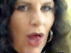 Mature Slut Giving A Blowjob