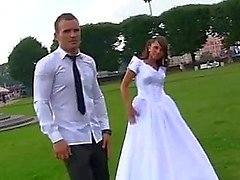 Hard dp group sex with hot bride madelyn