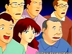 Anime di housewife ottiene si masturbava in scena