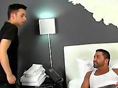 Homoseksüel XXX Yaralanan Dominic be bazı çok ihtiyaç duyduğu Yardım alıyor