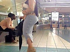 bubble Butt in Skirt Public 3