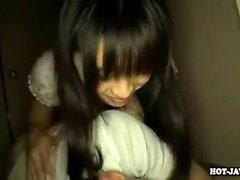 Mio Hiragi Japanese hardcore makes her s I am