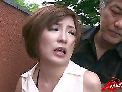 Bakanı acımasız bir anal orgazm