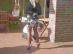 Señora y secundario exterior