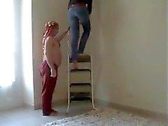 Dois Fakirs contra um Giantess (pisar duro - beatdown)