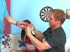 Rejäla förtärande av jungfrulig brud