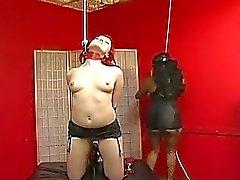 Redhead Babe Slaved By Her Maste...