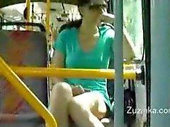 Zuzinka toques ella en un bus