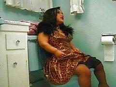 Migdet överraskning i toaletten