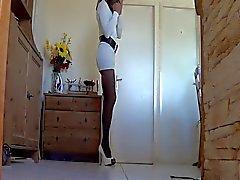 Weiß Tunika