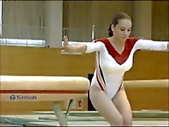 gimnasta Олимпика Rumana Корины Ungureanu