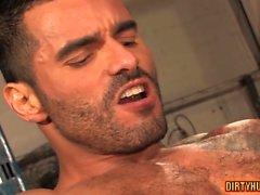 Muscle Homosexuell anal und anal abspritzen