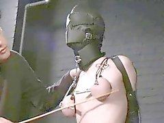 esclavo capucha torturada y envasados