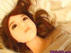 Super hot Süße Mädchen japanischen zu tun seltsam Geschlechts
