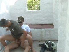Verdammt noch mal Armee Bareback Boys
