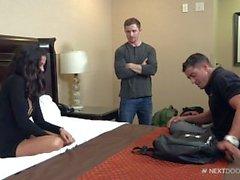 Cody Cummings and Markie More & Lola Castillo