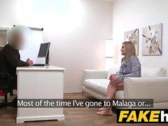 Fake Agent Shy блондинка модель бритая киска лизали