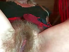 Hairy Blonde Mature door TROC