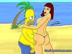 Berühmt Cartoon Berühmte Persönlichkeit Geschlechts