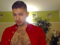 Sexy Dirty Talk Deep Voice Komea Latino Webcam malli Hairy Chest