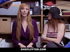 ShopLyfter - Travando e Fodendo Ladrão de Cabeça Vermelha