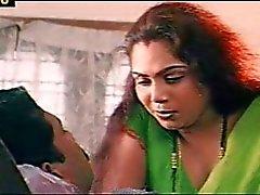 A Mallu Sindhu cenas de romatic