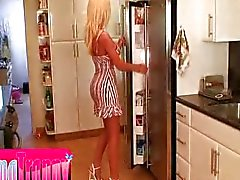 Ana Mancini in the kitchen