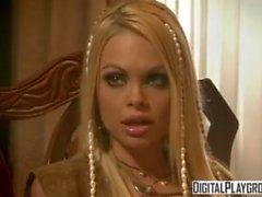 Classic Pirates 2: Jesse Jane och Belladonna i varmt grov lesbisk sex