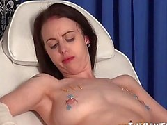 Medical fetish and extreme needle bdsm of enslaved