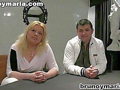 jamona rubia española follando en brunoymaria
