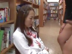 Shy Busty Librarian Put On Her Jap A Knees